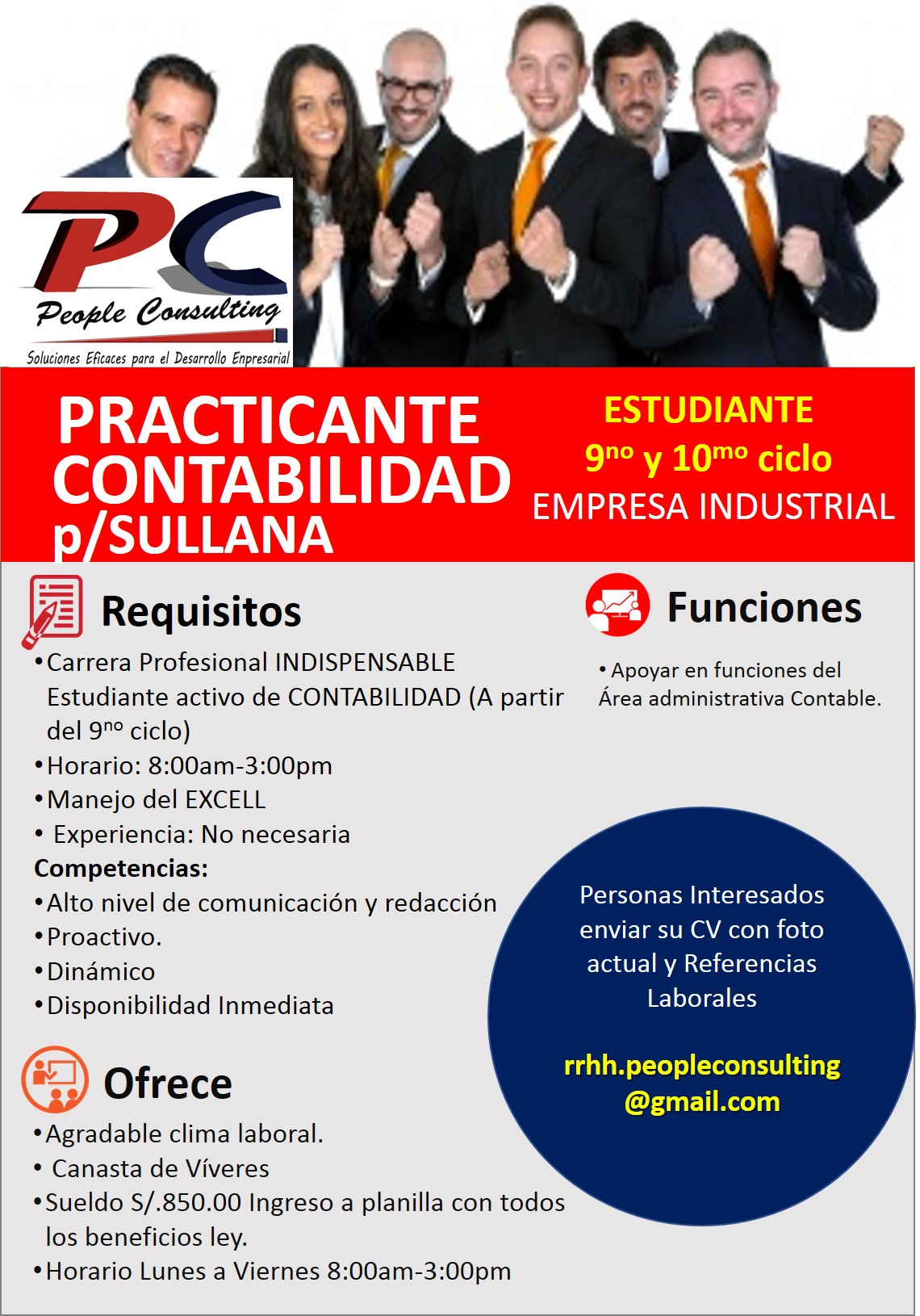 Convocatoria de empleo « Boletin Digital de la Universidad Nacional ...